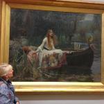 Lady of Shalott by Waterhouse - magic !