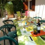 Terrasse privative appart rez de jardin