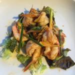 Entrée délicieuse (salade crevette)