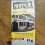 Flyer des Museums