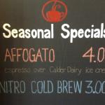 Affogato now available huh...