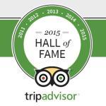 TripAdvisor Hall of Fame Member Hotel