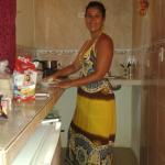 cocinando en habitacion