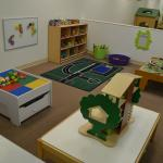 "Toy Room with lego table, train table, cars and activity mat, doll ""treehouse"", dinosaurs and mo"