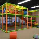 Adult-friendly jungle gym - we encourage families to play together!