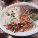 Enchiladas de Camaron with Creamy Poblano Sauce