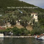 Ilias Club vanaf de Vlicho baai gezien