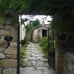 Entrada a l'Hotel Rural Palacio de Prelo