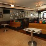 Vintage bowling lanes