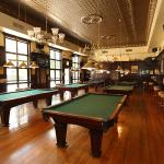Billiard Room, complete with 6 tables.