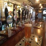 Selection on draught beers