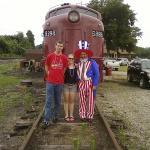 July 6th patriotic train