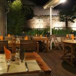 "le patio du Piron ""by night"""