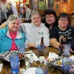 Supper at Rowdy Beaver ! Delious meal and great entertainment