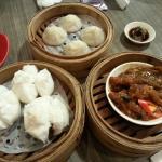 pork buns, shanghai dumplings & chicken feet