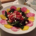 Watermelon salad. Mmm!