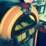 The juke box at Wright's Dairy Rite