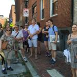 In the North End, near Paul Revere's home.