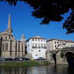 Limoux Church and Bridge
