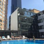 Un plus au mois d'août ... La piscine extérieur !