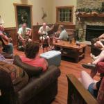 Jam session in the main lodge!