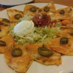Classic nachos and southwestern eggrolls