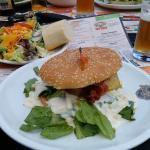 Chicken Caesars Burger