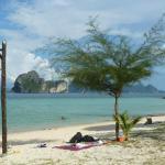 beach infront off resort