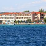 Hotel Duje from the sea