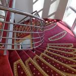 Staircase of hotel Duje