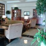 Comfortable sitting area within lobby area