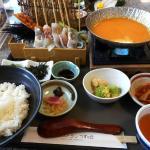 〆のウニ雑炊が美味しかった海鮮ウニしゃぶ