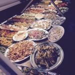 Buffet Aperitivo di pesce 10€ a persona