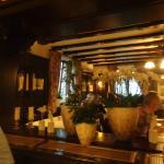Angenehmes Ambiente im Restaurant