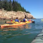 Summer kayak tours