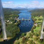 Lakeside from a passing Lancaster Bomber