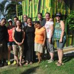Our group with Lupe, Danny and Miner.....wonderful people, all!