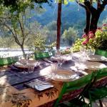 la tavola apparecchiata per i nostri ospiti