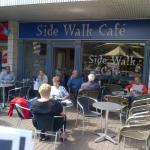 outside Side Walk Cafe, Tamworth