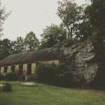 Church with a Rock in it