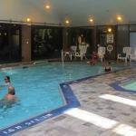 Pool, Hilton Meadowvale Hotel, photo by Mike Keenan