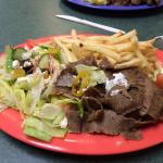 our gyro without bread which you can get it with bread