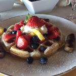 Off the Hook  B & B  Belgian Waffles