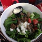 Gyro salad...don't do it.