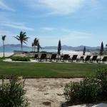 Veiw from main hotel/condo pool to beach.