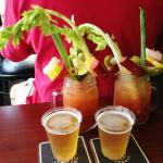 Classic Bloody Mary's with complimentary beer chasers