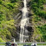 Lots of amazing waterfalls in Valdez