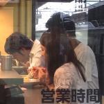 新幹線待ちの間に急いで食べる