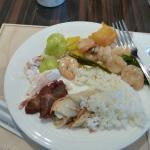 Breakfast from Khotel Songjiang Taipei