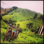 beautiful mountain terrain